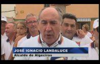 Landaluce inaugura una réplica de la Virgen en la Plaza Virgen del Mar en el Rinconcillo