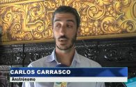 Landaluce recibe al algecireño Carlos Carrasco, que investiga sobre la formación planetaria