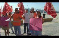 Los trabajadores de mantenimiento y limpieza de playas solicitan una reunión al Alcalde de Algeciras