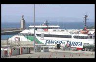 Reabierto el tráfico marítimo en el puerto de Tarifa al amainar la fuerza la del viento
