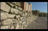 EMALGESA actúa en la limpieza de redes en el entorno de las murallas medievales