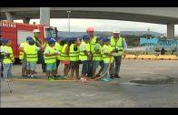 Escolares de Algeciras descubren el reciclaje de productos industriales con APM Terminals
