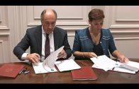 Firmados tres convenios de colaboración para la mejora del transporte público