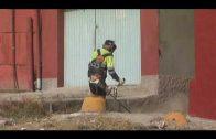 Algesa culmina los trabajos de limpieza en la calle Los Arcos