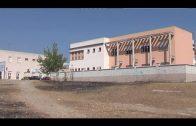 Algesa desbroza las parcelas municipales de la calle José de Espronceda en la barriada del Saladillo