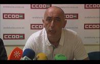 CC.OO se ha manifiestado hoy en Sevilla para exigir mejoras en la  enseñanza en Andalucía
