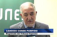 """Cándido Conde Pumpido abre el IX Ciclo de Conferencias """"LA UNED Y LA PALABRA"""""""