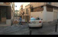 Cortes de tráfico en la calle Ventura Morón