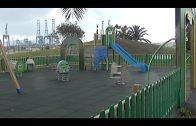 El Ayuntamiento de Algeciras renueva las luminarias del parque infantil de Mr. Iglú