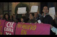Protestan ante el ayuntamiento por la cesión de terrenos para un nuevo CIE