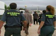 Rescatados los once ocupantes de una patera localizada a 12,5 millas de Tarifa