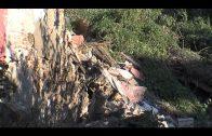 Fallece una persona tras la caída de un muro interior en una vivienda deshabitada de Ruiz Zorrilla