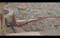 Técnicos municipales evalúan los daños causados por la lluvia en las playas algecireñas