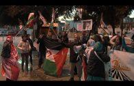 Amigos del Pueblo Saharaui se concentran ante el consulado de Marruecos