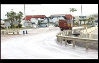 Cerrado al tráfico de vehículos pesados en Acceso Sur al Puerto durante la tarde del jueves