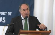 El alcalde diserta sobre las relaciones puerto-ciudad en un coloquio del Propellers Club