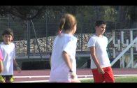 La Inmaculada y su atleta Alba Martínez, en el plan de ayuda a clubes de la Federación Andaluza