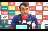 Borja Maderal: «Llega el domingo y lo que se intenta es conseguir los 3 puntos siempre»