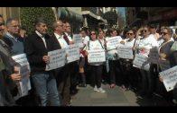 Concentración silenciosa en Algeciras para reclamar la igualdad con motivo del Día de la Mujer