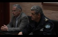El alcalde mantiene una reunión de seguridad con Policía Nacional y Policía Local
