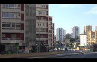 El Ayuntamiento renueva el alumbrado en la carretera Nacional a la altura de Doña Casilda