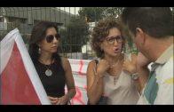 Los trabajadores de la residencia de San José Artesano protestan por la falta de personal