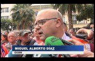 Más de dos mil personas se concentran en Algeciras para apoyar a los estibadores