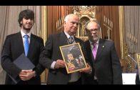 Muñoz Madrid y Delgado Cerro presentan el cartel anunciador de la Semana Santa algecireña