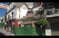 Piden licencia para la demolición de la casa de la Cristóbal Colón que sufrió desprendimientos
