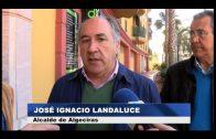 El ayuntamiento acomete obras de mejora en el entorno de Virgen de la Palma