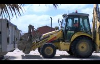 El Ayuntamiento comienza los trabajos de renovación  de la red de saneamiento en El Rinconcillo