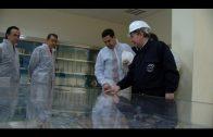Moreno Bonilla visita la factoría de Acerinox en el Campo de Gibraltar