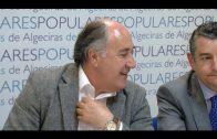 Sanz asiste a la reunión comarcal del PP del Campo de Gibraltar en Algeciras