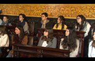 Un grupo de estudiantes franceses de intercambio visita la ciudad