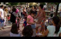 Apadis celebra en la Plaza Alta el acto previo a la inauguración de la exposición sobre Willy Fog