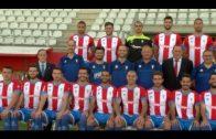 El alcalde felicita a la plantilla del Algeciras CF por su primer triunfo en la liguilla de ascenso