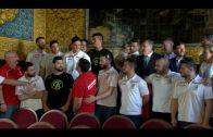 Recepción al Club Balonmano Ciudad de Algeciras tras ascender a la primera nacional