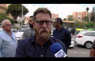 Taxistas se concentran contra la piratería en el sector