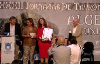"Clausuradas las XXXII Jornadas de Tauromaquia ""Ciudad de Algeciras"""