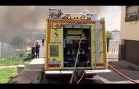 Desalojados dos colegios tras un incendio originado en Cortijo San Bernabé