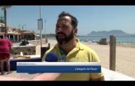 Hoy terminan los trabajos de preparación de las playas algecireñas