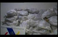 La Guardia Civil interviene más de una tonelada de hachís en el remolque de un camión