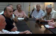 Landaluce mantiene un encuentro con la Plataforma de los Colectores