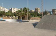 El Ayuntamiento de Algeciras lleva a cabo los trabajos de limpieza y desbroce de la zona del Skate Park y el cementerio