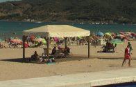 La delegación de playas acomete la reparación de los muros de borde del paseo de Getares
