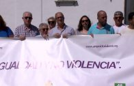 Victoria Kent se concentra en la Plaza Alta en contra de la violencia de género