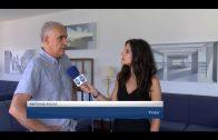 Antonio Rojas expone en el Real Club Náutico de Algeciras su muestra «Nueva línea de horizonte»
