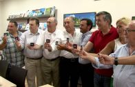 El alcalde, José Ignacio Landaluce renueva su compromiso con el Algeciras Club de Fútbol