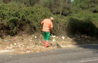 El Ayuntamiento de Algeciras continua con los trabajos de limpieza en  barriadas