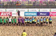 Los Pulpos Beach Infantil masculino Campeón de España de Balonmano Playa